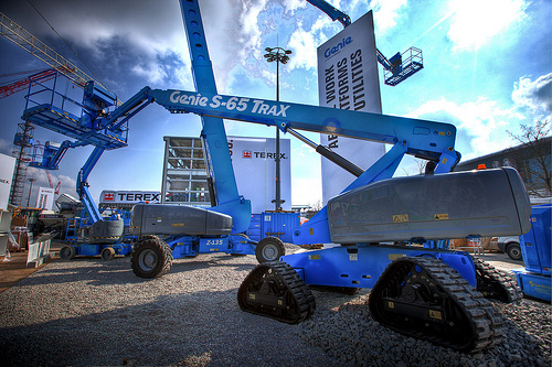 Terex AWP & CEVA: a solid relationship - Borchwerf II